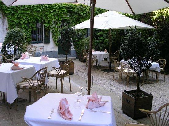 Concordia Hotel Le Mans Centre Gare : terrasse