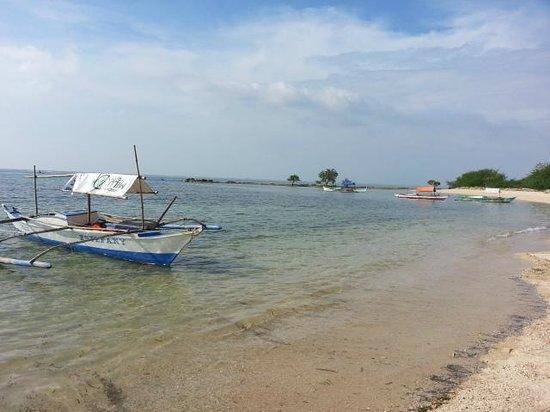 Boat at Burot Beach