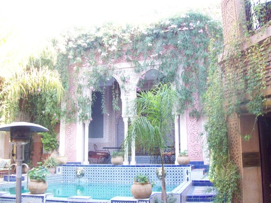 Palais Sebban : courtyard