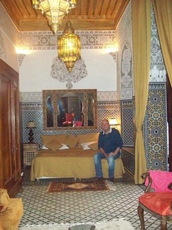 Palais Sebban: our room