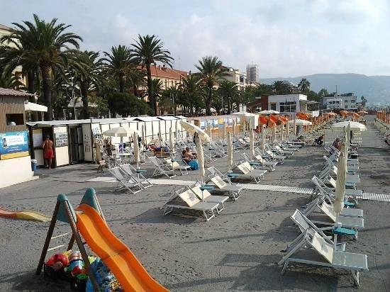 spiaggia attrezzata per cani Pietra Ligure - Foto di ...