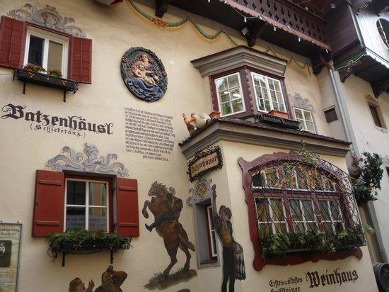 Kufstein Fortress : casa caratteristica di Kufstein