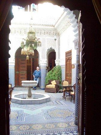 Palais Sebban: outside our room