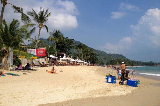 Utopia Resort: The beach at the hotel