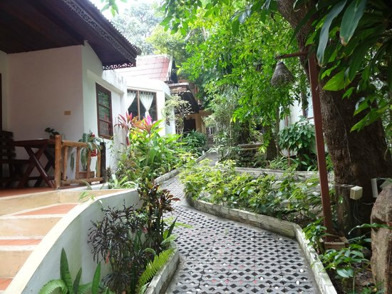 Natural Wing Health Spa & Resort: natural place around with many trees