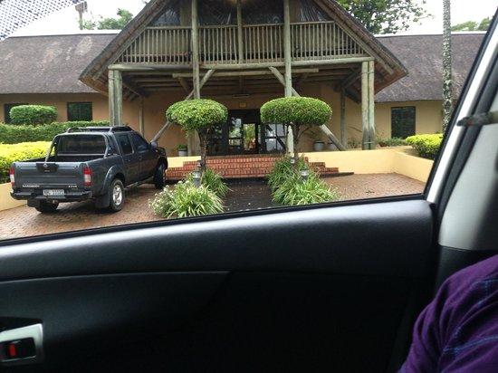 AmaZulu Lodge: Arriving @ the Lodge