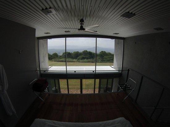 The Bunyip Scenic Rim Resort: View from the top floor of the bedroom