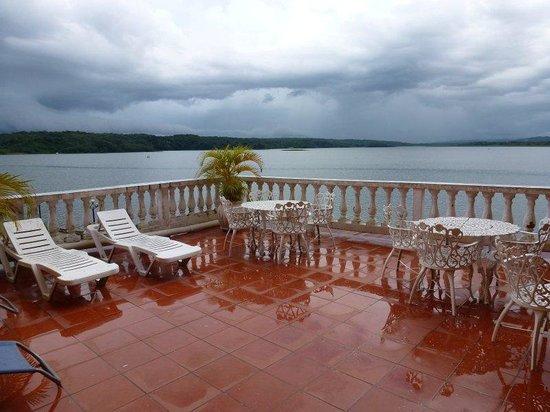 Hotel Villa del Lago: Terrace