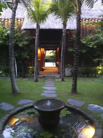 RedDoor Bali: l'entrée