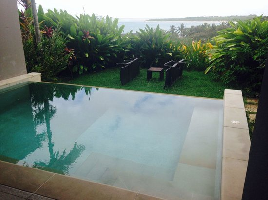 InterContinental Fiji Golf Resort & Spa: Private plunge pool