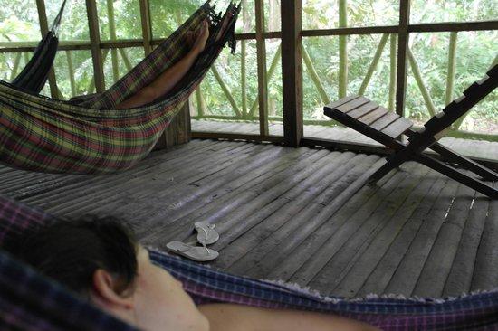 Otorongo Amazon River Lodge : The hammock room