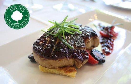 Dans Restaurant: Foie Gras