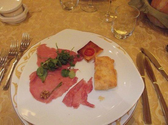 Hotel Il Falchetto: Antipasto