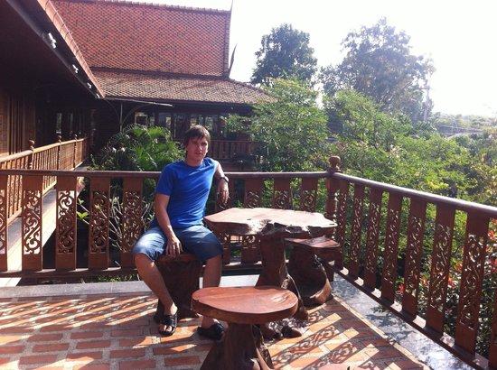 Deeden Pattaya Resort: Вид со второго этажа