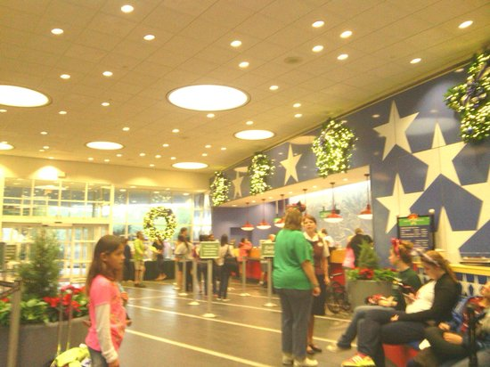Lobby Decorated For Christmas Picture Of Disney S All Star