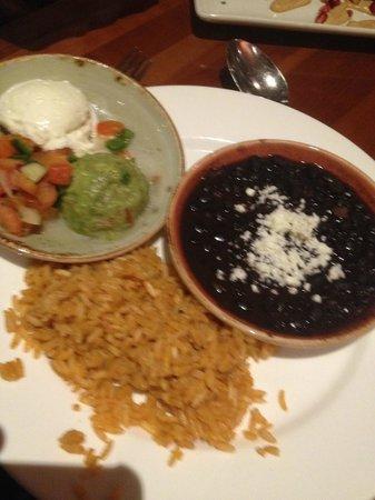 Cantina Laredo : Fajita toppings