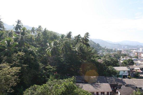 Lae Lay Suites: вид с балкона