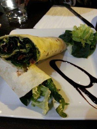 Cafe Infinito: Wrap de verduras