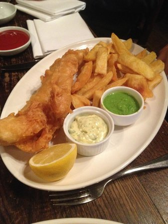 The Punchbowl: Fish & chips