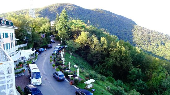 Portofino Kulm Hotel: Hotel is situated on the top of the park hill