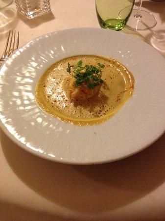 Chez Chilo Hotel : le velouté de potiron et son oeuf poché