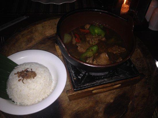 Garpu Restaurant: Wok bœuf
