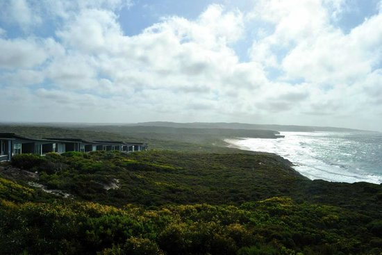 Southern Ocean Lodge : View of lodge