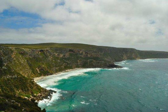 Southern Ocean Lodge: Nearby landscape