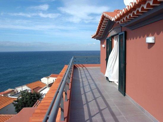 Hotel Jardim do Mar : Terrasse der Suite