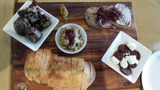 Clairault Streicker Estate: Meat Board