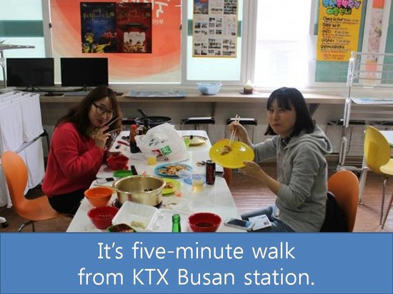 Busan Sukbak Dot Com Guesthouse : User Guide