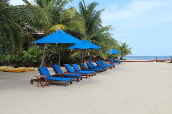 Chabil Mar: 400 ft. of Private Beach in Placencia Village, Belize