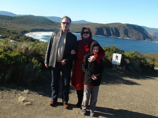 South Bruny National Park : Lighthouse look out