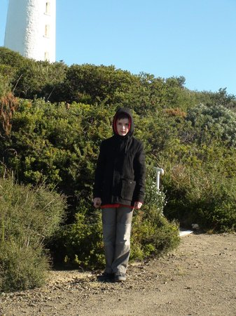 South Bruny National Park : At the historic lighthouse