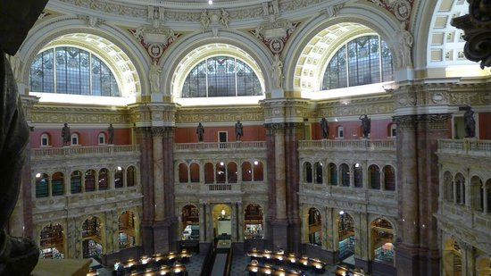 Bibliothèque du Congrès : Library of Congress January 2014, Main Reading and research room