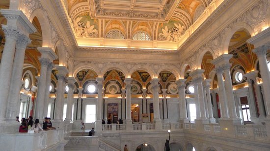 Biblioteca del Congreso: Library of Congress January 2014, The Great Hall