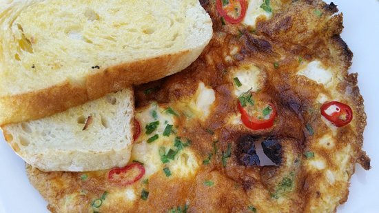 Sails too: Crab Omelette