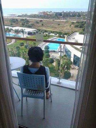 Baia Lara Hotel: Vue de la chambre 5206