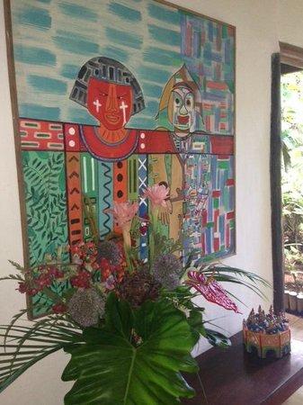 Pousada Calypso: Entrance to Dining Area