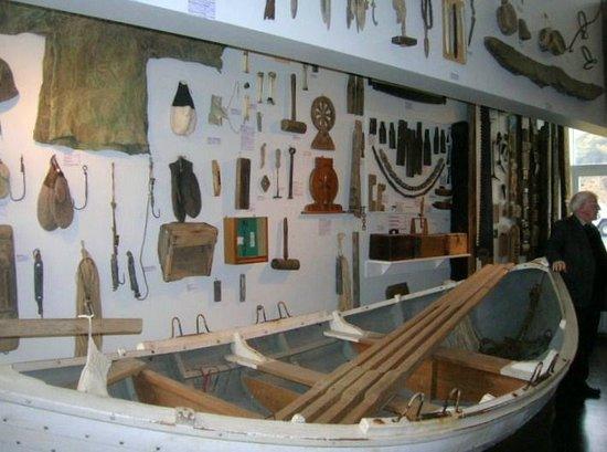 Skogasafn: museum pieces