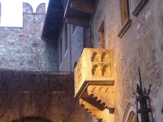 Casa di Giulietta: le fameux balcon