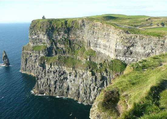 West Ireland Cycling: A View from the Cliffs of Moher