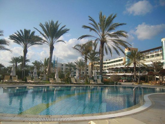 Constantinou Bros Athena Beach Hotel: piscina