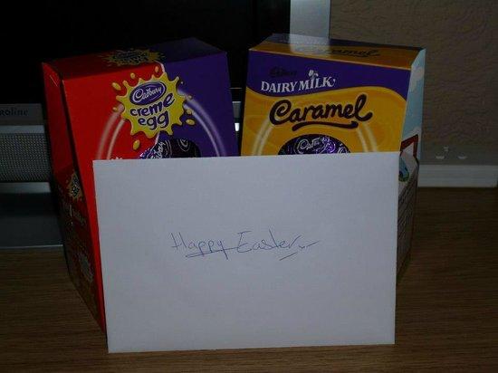 The Manhattan : Complimentary Easter eggs!