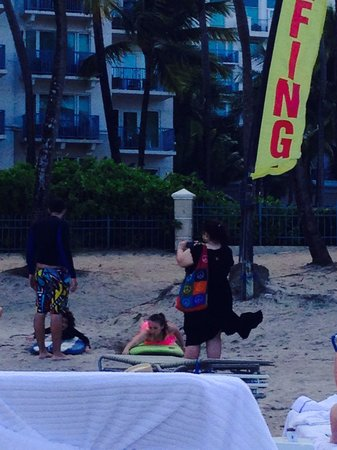 The Ritz-Carlton, San Juan: Surfing lessons