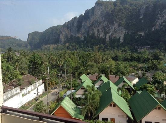 Ascot Krabi: view from our balcony.