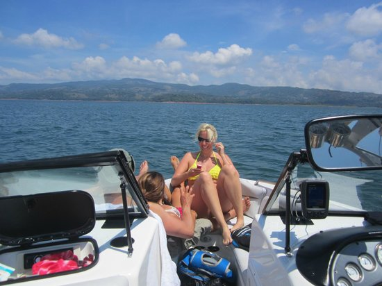 Living Forest: Boating at Lake Arenal