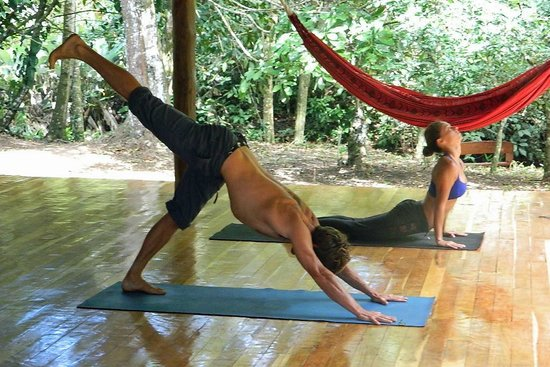Yoga at Living Forest Costa Rica