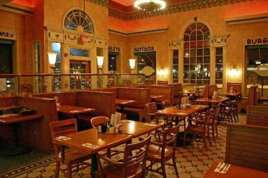 Yours Truly Restaurant Shaker Square Interior