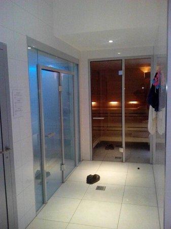 Alvisse Parc Hotel : Hammam et sauna